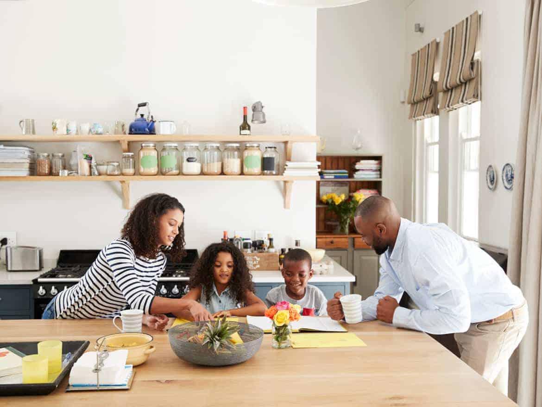 Administração Doméstica com Crianças