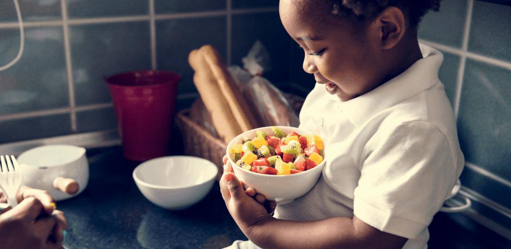 Muito além de comer: compartilhando amor e carinho